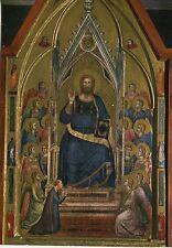 Alte Kunstkarte - Giotto - Der Erlöser auf dem Katheder