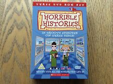 Horrible Histories Dvd Boxet! 3 Disc Collection! Look At My Other Dvds