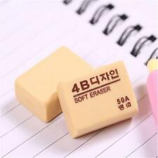 Soft Pencil Eraser Rubber Drawing Writing Lead Mistake 4B 50A 28x18x10mm LY