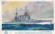 POSTCARD    SHIPS    HMS  King  George  V