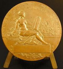 Medaille Burdigala Exposition de 1895 sc A Rivet Emblème Ville de Bordeaux medal