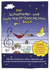 Das Schlaflieder- und Gute-Nacht-Geschichtenbuch  NEU!!!