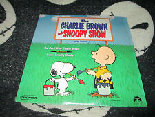 The Charlie Brown & Snoopy Show Vol 1 You Can't Win CB Linus' Security Laserdisc