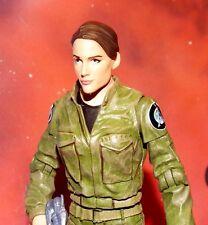 """STARGATE SG-1 / MARVEL SHIELD CUSTOM LT MARIA HILL 6"""" ACTION FIGURE"""