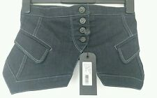 BNWT 7 For All Mankind Jolie Slim Illusion High Waist Cinche Belt Blue RRP £75
