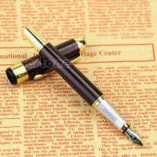 New Jinhao X250 Fontaine stylo rouge Marbre Moyen Nib Doré Réduire