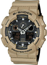 Casio G-Shock Sportuhr Armbanduhr analog digital beige schwarz