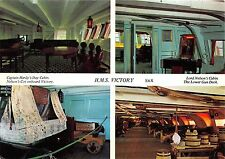 B87903 h m s victory ship bateaux captain hardy s day cabin
