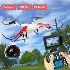 Wltoys V686 5.8g FPV RC Quadcopter Drone Helicopter HD Camera Monitor Mode 2