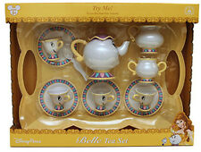 Disney Parks Belle Tea Set Dishes Mrs Potts Chip Beauty and Beast with Sound