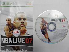 OCCASION en Loose jeu NBA LIVE 07 xbox 360 game francais 2007 sport basket spiel