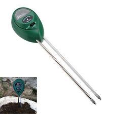 Medidor de PH Humedad Luz Suelo Analizador Para Plantas Acidez Luminosidad Medir