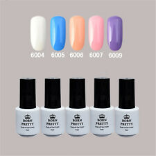 5 Flasche BORN PRETTY Soak Off One-step Gel 5ml Nagellack Maniküre 6004/5/6/7/9