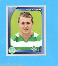 PANINI-CHAMPIONS 2008/2009-Fig.208- McGEADY - CELTIC -NEW BLACK
