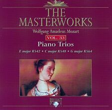 The Masterworks Vol. 33-Wolfgang Amadeus Mozart Piano Trios K452,K548,K564 CD