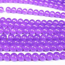 New 100pcs 4mm Deep Purple Czech Crystal Jewelry Charm Loose Round Beads