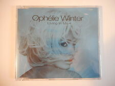 OPHELIE WINTER : LIVING IN ME [ CD-MAXI NEUF PORT GRATUIT ]