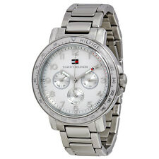 Tommy Hilfiger Multi-Function White Dial Stainless Steel Ladies Watch 1781515