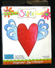 Sizzix Originals Die Large, Heart w/Wings, 655824, NEW,use with BIGkick,Big Shot