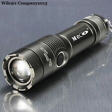 Military Grade Tactical Flashlight LED XM-L T6 2000lm Waterproof Focus Torch