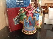 V rare disney tradition 'sleeping beauty-musical/light up/3 Fairys. See Details!