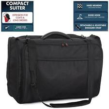 IT Wall Street Executive Business Travel Suiter Garment Dress Carrier Bag Black