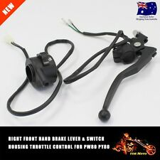 For YAMAHA PY80 PW80 KILL HANDLE SWITCH HOUSING THROTTLE + R/H Brake Lever
