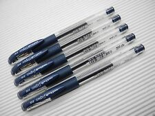 (5 pens) Uni-Ball Signo DX UM-151 0.38mm gel roller ball pen Blue-Black