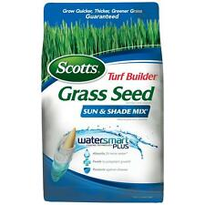 Scotts Turf Builder 7 lb. Sun and Shade Mix Grass Seed Lawn Tall Fescue New