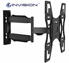 Invision Articulating TV Wall Mount Tilt Swivel Arm for 26 32 37 40 42 46 50 55