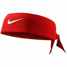 New Womens Nike Head Tie 2.0 University Red Headband Tennis Running Basketball