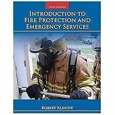Introduction to Fire Protection and Emergency Services by Robert Klinoff...