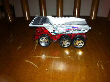 2001 Matchbox Demolition Force dump truck die cast toy vehicle Red Gray car old