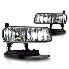 Fit for Silverado Fog Lamp Light Replacement PAIR 1999 2000 2001 2002 1500 2500