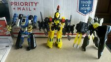 Hasbro Transformers Robots In Disguise Night Cruz, Mirage GT& Scavenger-Complete