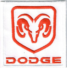 DODGE RAM EMBROIDERED IRON ON PATCH mopar hemi rumble bee 1500 2500 srt 10