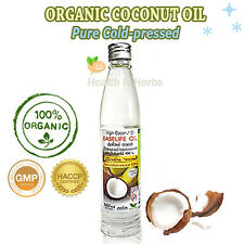 ORGANIC VIRGIN COCONUT OIL 100% PURE COLD-PRESSED FOR DAILY FOOD SUPPLEMENTARY