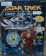 "Tosk Reptilian Alien Playmates Star Trek DS9 Deep Space Nine 5"" Figure Space Cap"