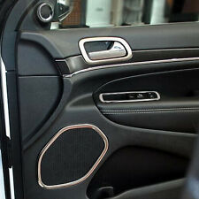 Steel Interior Side Door Speaker Cover Trim 4x For Jeep Grand Cherokee 2011-2016