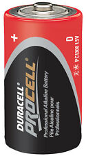 CASE 36 NEW DURACELL PROCELL SIZE D Alkaline Batteries EXP 2019 or later
