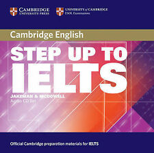 Step Up to IELTS Audio CDs, McDowell, Clare, Jakeman, Vanessa, New Condition