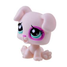 Rare Hasbro Littlest Pet Shop LPS Light Pink Dog Puppy Gift Toy Animals