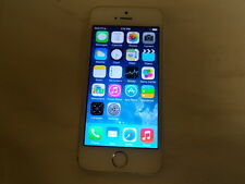 APPLE IPHONE 5S ME306LL/A A1533 SMARTPHONE 16GB SILVER (AT&T) (6675-1 S1a)