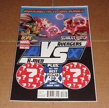 AVX Vs #6 Fight Poster Variant Edition 1st Print Avengers X-Men