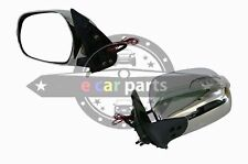 TOYOTA HIACE 03/2005-2012 LEFT HAND SIDE DOOR MIRROR ELECTRIC CHROME/LIGHT