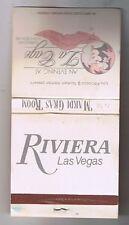 Riviera Hotel Casino La Cage Impressionist Show Matchbook Las Vegas Nevada