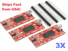 3 PCS EasyDriver V4.4 Shield Stepper Motor Driver A3967 Arduino Ships from USA