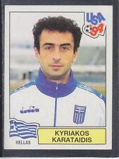 Panini - USA 94 World Cup - # 270 Kyriakos Karataidis - Hellas (Black Back)