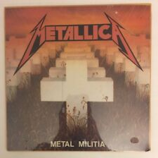 Metallica - Metal Militia - SEALED 1986 Rare Vinyl LP Record Album