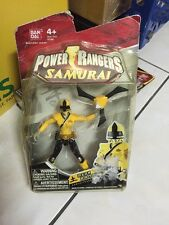 Bandai Power Rangers Samurai YELLOW Ranger  MOSC